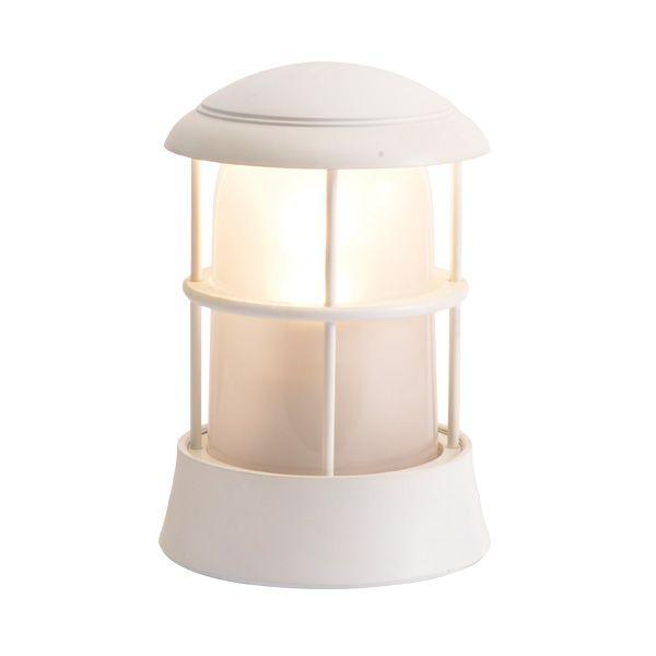 ゴーリキアイランド 750090 真鍮製マリンランプ くもりガラス&LEDランプ BH1010 FR LE 古白色 ポーチライト アンティーク レトロ