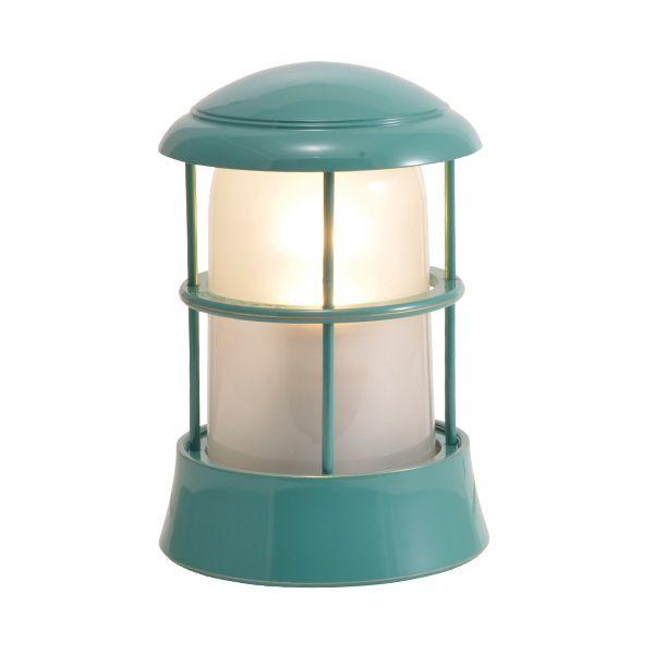 ゴーリキアイランド 750093 真鍮製マリンランプ くもりガラス&LEDランプ BH1010 FR LE メイグリーン ポーチライト アンティーク レトロ