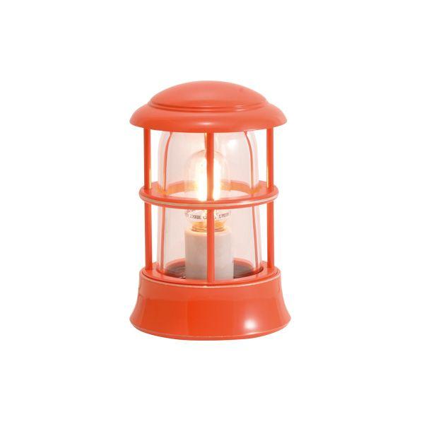 ゴーリキアイランド 750112 真鍮製マリンランプ クリアガラス&LEDランプ BH1010MINI CL LE オレンジ ポーチライト アンティーク レトロ