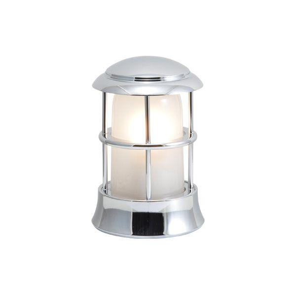 ゴーリキアイランド 750114 真鍮製マリンランプ くもりガラス&LEDランプ BH1010MINI FR LE 銀色 ポーチライト アンティーク レトロ
