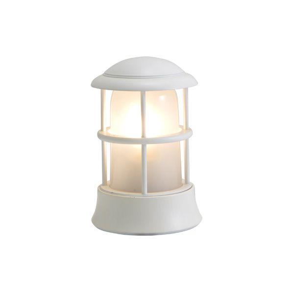 ゴーリキアイランド 750117 真鍮製マリンランプ くもりガラス&LEDランプ BH1010MINI FR LE 古白色 ポーチライト アンティーク レトロ