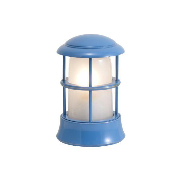 ゴーリキアイランド 750118 真鍮製マリンランプ くもりガラス&LEDランプ BH1010MINI FR LE パシフィックブルー ポーチライト アンティーク