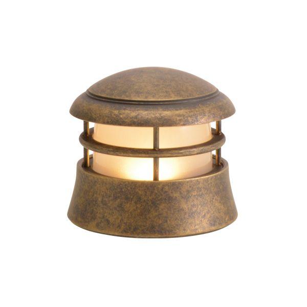 ゴーリキアイランド 750124 真鍮製マリンランプ くもりガラス&LEDランプ BH1010LOW FR LE 古色 ポーチライト アンティーク レトロ