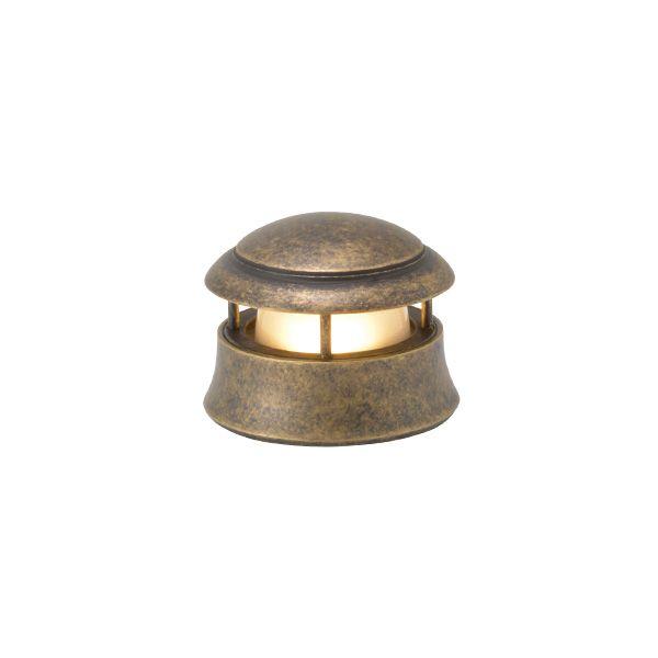 ゴーリキアイランド 750133 真鍮製マリンランプ くもりガラス&LEDランプ BH1010MINI LOW FR LE 室内用 古色 ポーチライト アンティーク