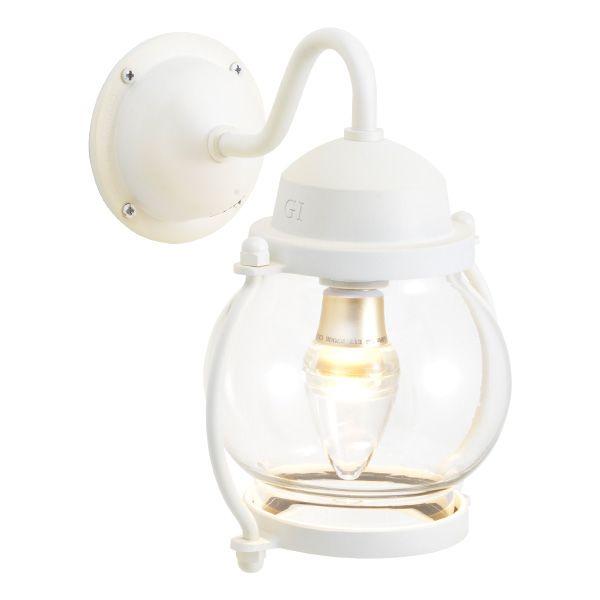 ゴーリキアイランド 750210 真鍮製ブラケットランプ クリアガラス&LED BR1700 CL LE 古白色 ポーチライト アンティーク レトロ