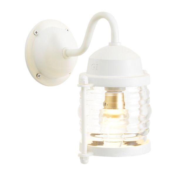 ゴーリキアイランド 750223 真鍮製ブラケットランプ クリアガラス&LEDランプ BR1710 CL LE 古白色 ポーチライト アンティーク レトロ