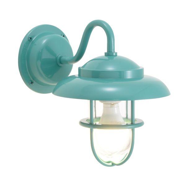 ゴーリキアイランド 750245 真鍮製ブラケットランプ クリアガラス&LEDランプ BR1760 CL LE メイグリーン ポーチライト アンティーク レトロ