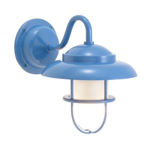 ゴーリキアイランド 750252 真鍮製ブラケットランプ くもりガラス&LEDランプ BR1760 FR LE パシフィックブルー ポーチライト アンティーク レトロ