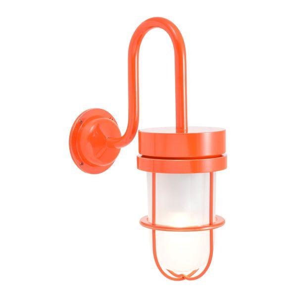 ゴーリキアイランド 750380 真鍮製ブラケットランプ くもりガラス&LEDランプ BR6000 FR LE オレンジ ポーチライト アンティーク レトロ