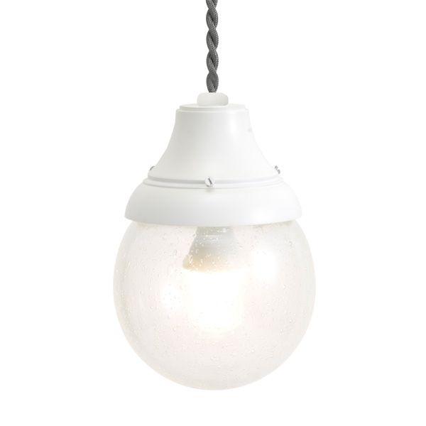 ゴーリキアイランド 750458 真鍮製ペンダントライト 泡入りガラス&LEDランプ PW1784 BU LE 古白色 真鍮 インテリアライト 天井照明 北欧