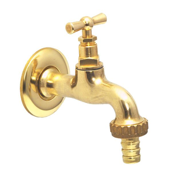 ゴーリキアイランド 870609 真鍮製製水栓 外用 売買 金色 トリエステS 真鍮 ガーデニング DIY アンティーク 庭 レトロ 水栓 選択