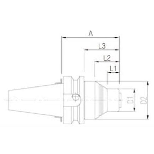 ムラキ APC BT30S-A アルブレヒトAPCミ-リングチャック APCBT30SA
