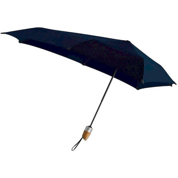 4582590560226 Senz センズ 折りたたみ傘 Automatic Deluxe ミッドナイトブルー 自動開閉 晴雨兼用 senz201-MB