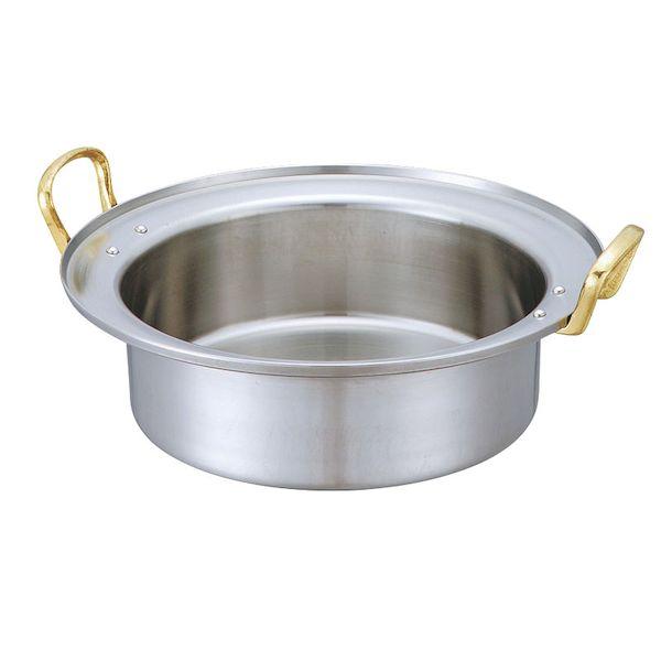 4571335093389 中尾アルミ製作所 キングデンジ すき焼鍋 賜物 深型 30cm 2.8L お買い得品