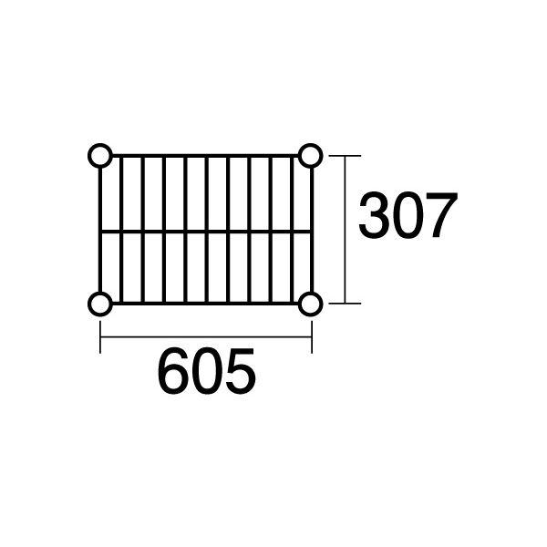 【ポイント2倍】137591 エレクター ステンレスエレクターSSS1820:PS2200:6段