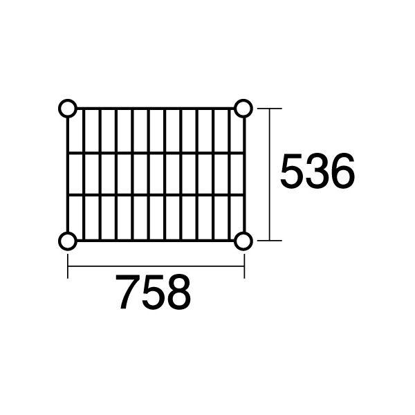 【ポイント2倍】137734 エレクター ステンレスエレクターSBS910:PS1590:4段
