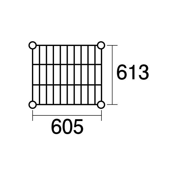 【ポイント2倍】137819 エレクター ステンレスエレクターSLS1220:PS2200:4段