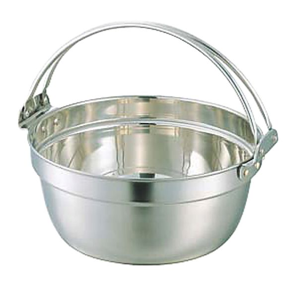 14.6L SW18-8ST料理鍋ツル付36cm 和田助製作所 4562171640110