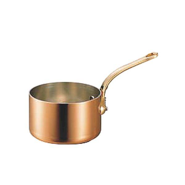 4562283617567 和田助製作所 銅極厚深型片手鍋真鍮柄15cm:測定器・工具のイーデンキ