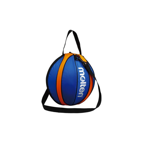 モルテン 激安セール molten NB10BO バスケットボール1個入れ ブルー×オレンジ ボールバッグ バスケットボール1個入れボールバッグ オンラインショッピング