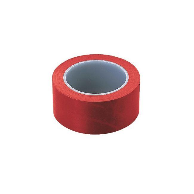 アズワン 1-4763-71 ASPUREラインテープN50mm幅 出色 赤 商品 5巻入 1476371 1袋