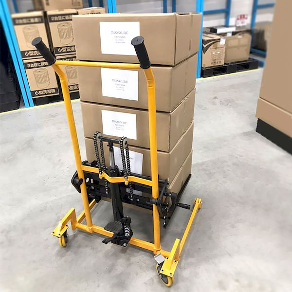 サンコーレアモノショップ 特売 [宅送] SHFLWWA6 荷幅調整機能付き油圧リフト