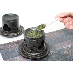 K13228-1 瀬戸焼 自家焙煎できる茶香炉黒 SALE開催中 K132281 公式サイト