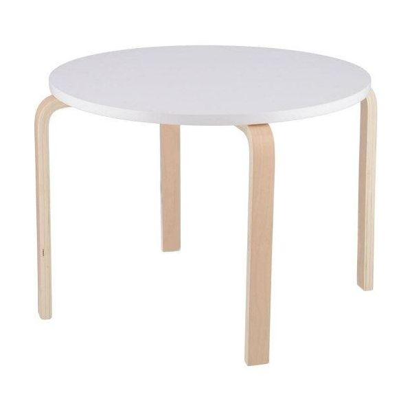 公式 4953980190628 キッズテーブル ペールホワイト 型番:A2401 色:WH 1個 クリアランスsale!期間限定!