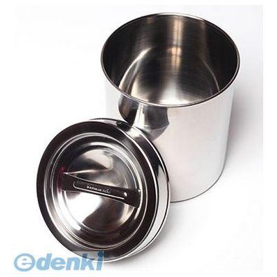【個数:5個】サンダイヤ [02061051] ステンレス製 湿布缶「外フタ式深型タンク」 M-105 1L (5入)