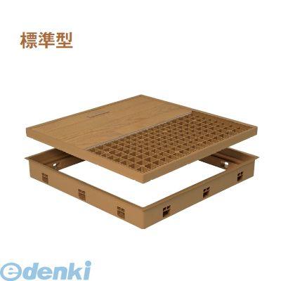 城東テクノ(Joto)[SPF-R6060C-MB] 「直送」【代引不可・他メーカー同梱不可】 高気密型床下点検口(標準型) 600×600 クッションフロア合わせタイプ 色ミディアムブラウン SPFR6060CMB