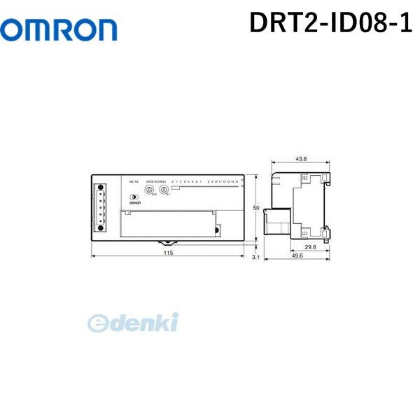 オムロン OMRON DRT2-ID08-1 DeviceNet リモートI/Oターミナル トランジスタタイプ DRT2ID081【キャンセル不可】