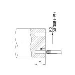 京セラ [FTK5 CR9025] 溝加工用チップ CVDコーティング CR9025 COAT (10個入) FTK5CR9025