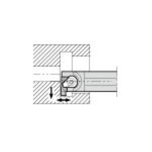 京セラ GIVR2016-2BE 溝入れ用ホルダ GIVR20162BE 208-5054