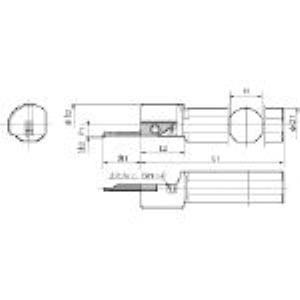 京セラ S19N-SVNR12N 内径用ホルダ S19NSVNR12N 652-1681 【キャンセル不可】