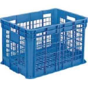 【個数:1個】サンコー SK-B300-BL 直送 代引不可・他メーカー同梱不可 サンテナー B#300 ブルー SKB300BL 356-2735