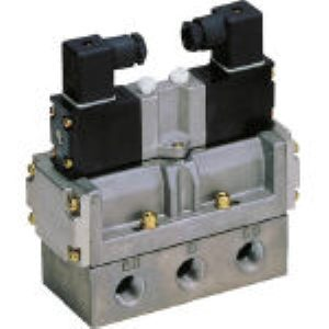 【あす楽対応】CKD [4F520-10-AC100V] 4Fシリーズパイロット式5ポート弁セレックスバルブ 4F 4F52010AC100V