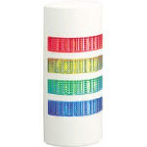 パトライト [WEP-402-RYGB] ウォールマウント薄型LED壁面 回転灯 パトランプ WEP WEP402RYGB