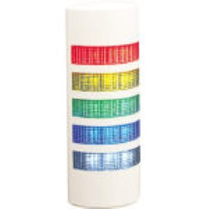パトライト [WEP-502-RYGBC] ウォールマウント薄型LED壁面 回転灯 パトランプ WE WEP502RYGBC
