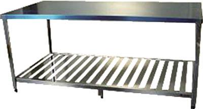 アズマ LT-1800 直送 代引不可・他メーカー同梱不可 作業台スノコ板付 1800×900×800 LT1800【キャンセル不可】