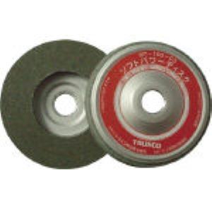 【あす楽対応】TRUSCO [SP100C3] ソフトパワーディスク ウレタン樹脂製中仕上げ研磨用 5個入 (5コ 175-8560