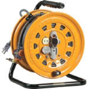 【個数:1個】ハタヤ TGM-150 逆配電型コードリール マルチテモートリール 単相100V 47+6m TGM150