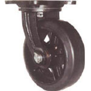 【個数:1個】ヨドノ MHA-MG300X75 鋳物重量用キャスター MHAMG300X75 305-3130