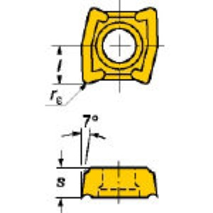 【あす楽対応】SV [LCMX030308-53 1020] U-ドリル用チップCOAT (10個入) LCMX LCMX030308531020