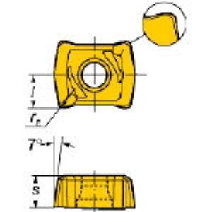 【あす楽対応】SV [LCMX040304R-WM 1020] U-ドリル用チップCOAT (10個入) LCM LCMX040304RWM1020 【キャンセル不可】