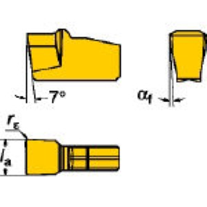 SV N151.2-200-20-4G H13A 溝入れ突切り用施削チップ超硬 10個入 N151.2200204G H13A 【キャンセル不可】