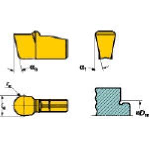 【あす楽対応】SV N151.2-200-20-4U H13A 溝入れ突切り用施削チップ超硬 10個入 N151.2200204U H13A 【キャンセル不可】