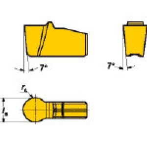 SV N151.2-600-50-5P 235 溝入れ・突切り用旋削チップ COA 10個入 N151.2600505P 235 【キャンセル不可】