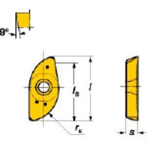 SV R216-16 03 E-M 2040 フライス加工用チップコロミルボス 10個入 R2161603EM2040【キャンセル不可】