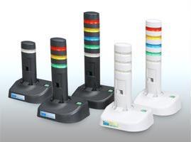 アイエスエイ DN-1300SE-3LSB USB警告灯 警子ちゃん3G 3層3色LED灯/透明レンズ/ダークグレー 2010/12/1以降出荷開始 DN1300SE3LSB【送料無料】
