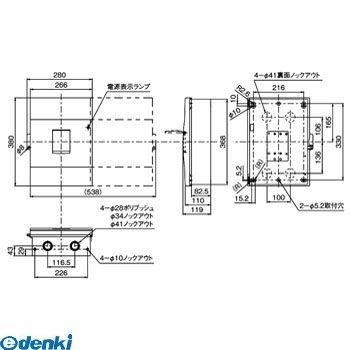 パナソニック Panasonic BCD2601K ケースBr NCD-100 2P60A
